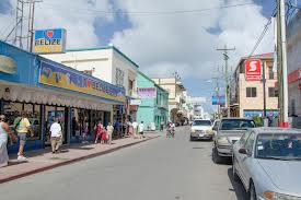 Belize City Streets Shopping