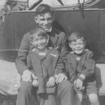Our Grandfather Peter, Leonard's father Leonard and my father Peter